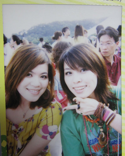Me&wanwan.彎彎哥拍的拍立得