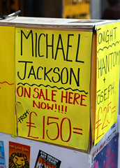 Michael Jackson is dead : Selling Jackson´s Soul for 150 Bucks
