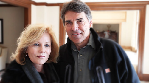 Governor & First Lady Perry