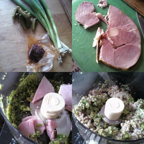 Deviled Ham #1 collage