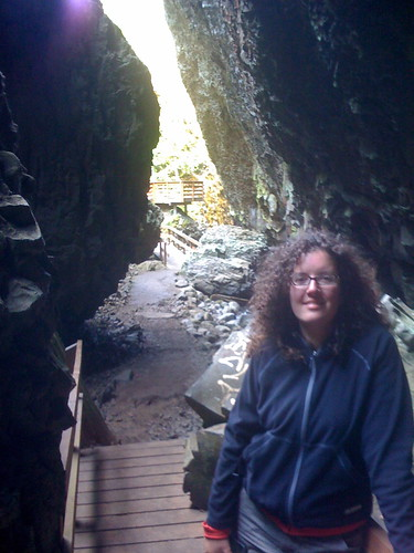 Me at cave exit. by you.