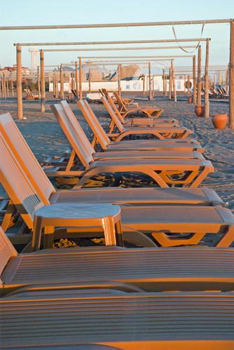 Beach and sunbeds, Antalya Belek, pentax k10d
