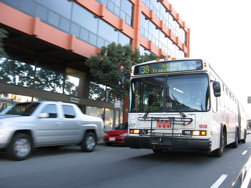 38 Geary Muni bus