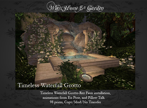 Timeless Waterfall Grotto