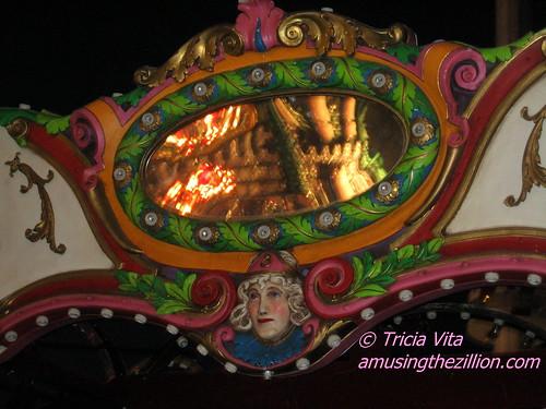 Medallion on Butler Amusements Carousel in Coney Island. Photo © Tricia Vita/me-myself-i via flickr