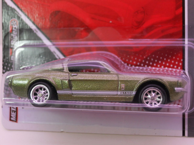hot wheels garage '67 shelby gt500 green (2)