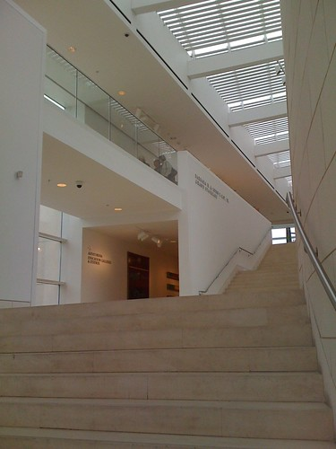 Inside the Jepson Center for the Arts