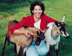 Lisa Schwartz & goats
