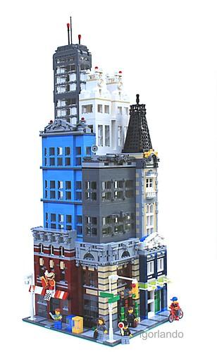 Lego City: Downtown Metro