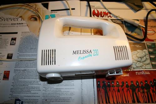 Melissa capacity 230! (Repairing a broken mixer)