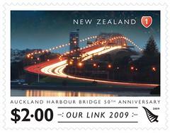 Harbour bridge stamp