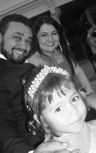 Eu, minha mulher e minha filha