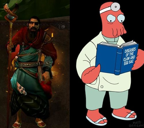 Featured: The Archivist Vs Dr. Zoidberg..... FIGHT!