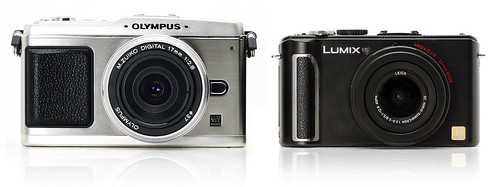 Olympus PEN E-P1 vs Panasonic Lumix DMC-LX3