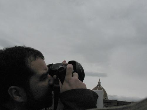 Florence, at the Uffizi