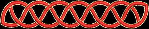 waist braid by you.