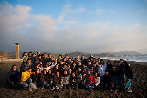 a2f Blue Group Picture at Pacifica