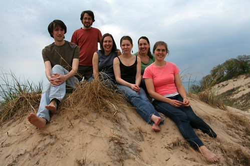 The Dunes group minus Kate, Anali, Ruth and Me