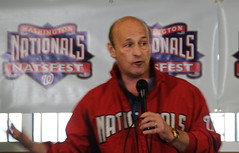Stan Kasten answers questions from fans at NatsFest