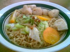 Yum Yum's fish ball noodles