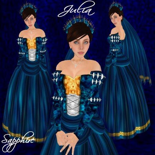 Julia - Sapphire - Ad