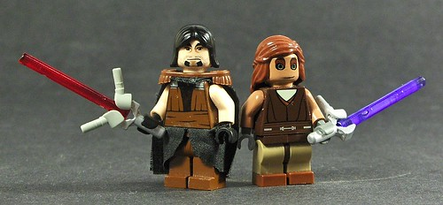 LEGO Star Wars custom minifigs