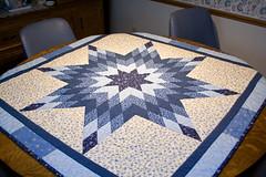 Blue Star Quilt