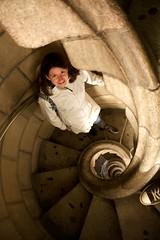 La Sagrada Familia Spiral Stairs