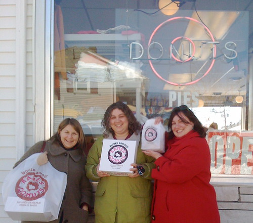 You can just call us the Charlie's Angels of Donuts