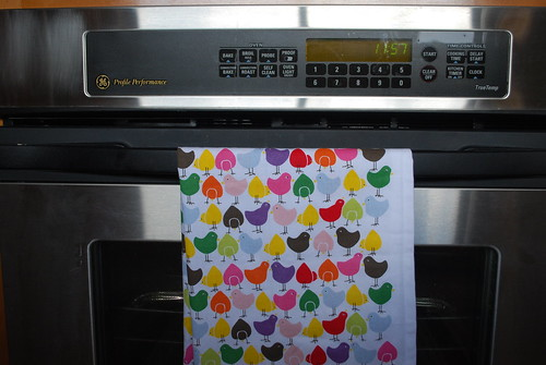 Easter kitchen towel