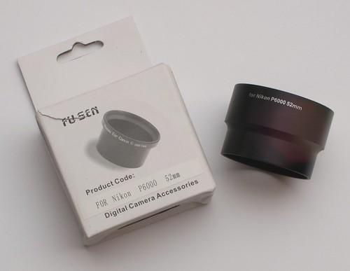 Nikon P6000 52mm Extension Tube