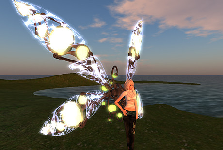 Clockwork Wings Cioccolata Hunt Prize from 109 Prims
