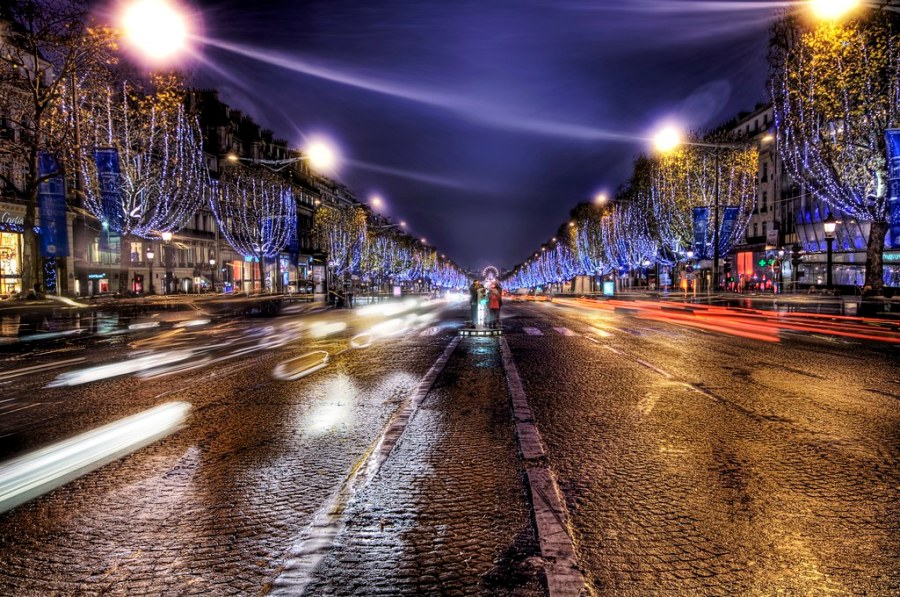 The Parisian boulevard where I should not have been standing