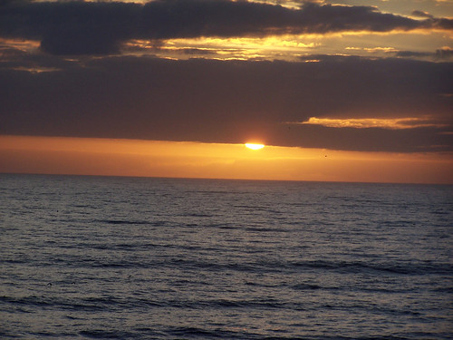 Sunrise over the Atlantic - 2/11/09