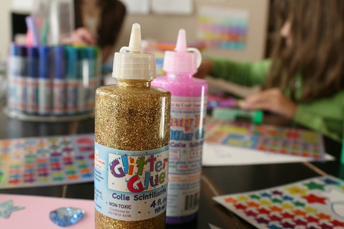 glitter GLUE--all the bling, none of the mess!