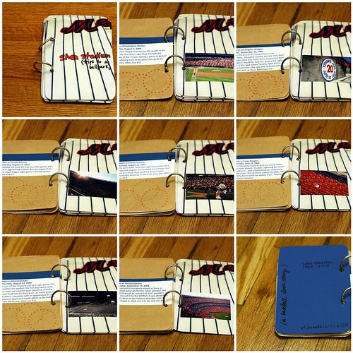 Get Crafty Project #1: Shea Stadium minibook