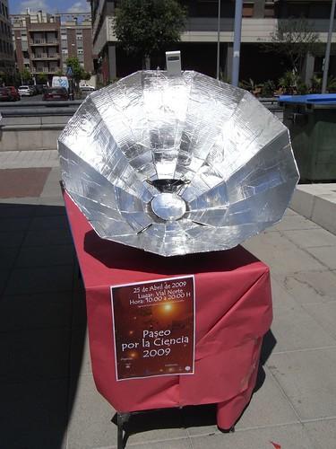 Cocina solar.