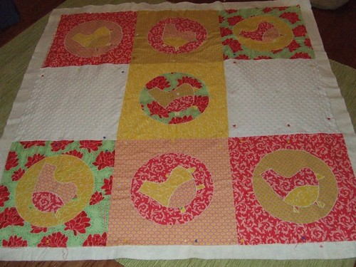 Quilt Before Quilted