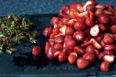 strawberries, decapitated