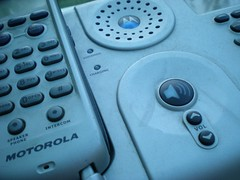 Motorola landline handset