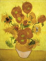 """Sunflowers"", Van Gogh"