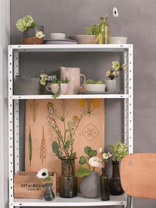 Gorgeous Grey + Violet Room Scheme