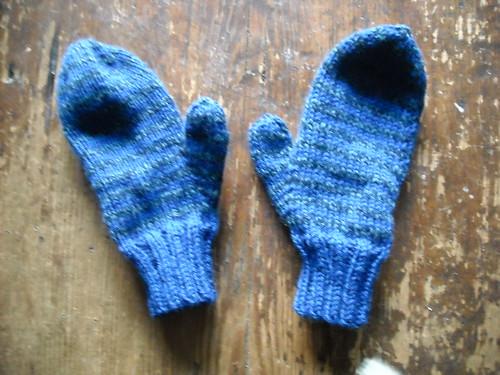 school charity mittens