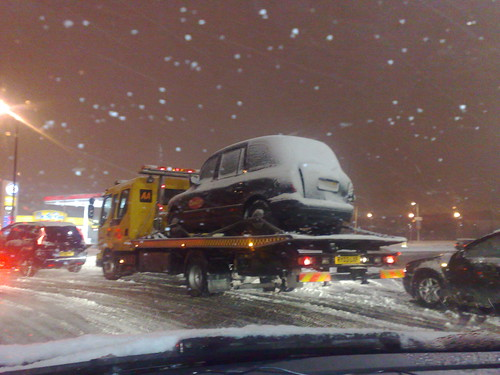 london snow taxi on truck by you.