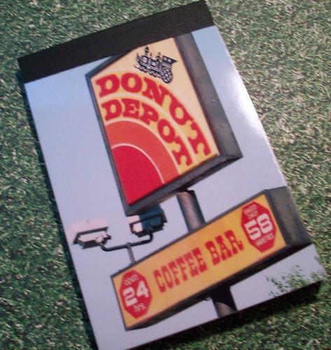 Donut Depot Notepad