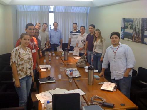 Turma de Auditores no curso de atualização da ISO 9001:2008