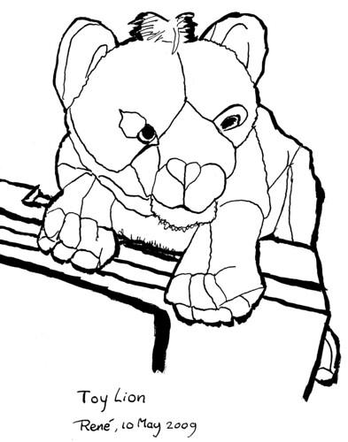 Toy Lion, part 3