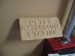 Detex Watchclock Station