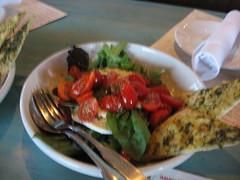 salad at via baci