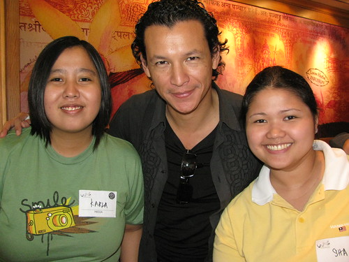 Me and Sha with Bobby Chinn